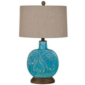 Deep Ocean - One Light Table Lamp