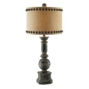 Iron Paluster - One Light Table Lamp