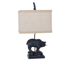 Fishing Bear - One Light Table Lamp