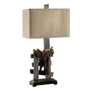 Saddle - One Light Table Lamp