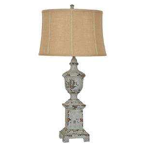 French Heritage - One Light Table Lamp