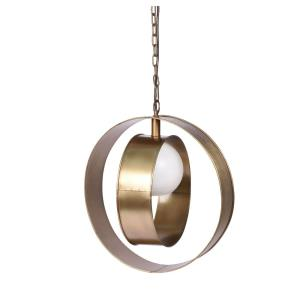Niles - One Light Large Round Pendant