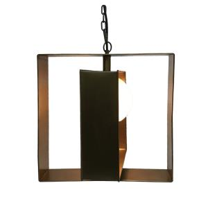 Niles - One Light Large Square Pendant