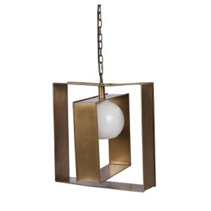 Niles - One Light Medium Square Pendant