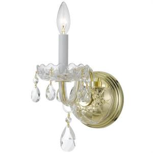 Traditional Crystal - 9 Inch One Light Wall Sconce