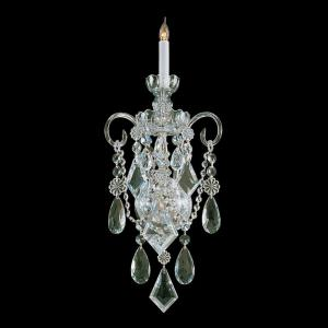 Traditional Crystal - One Light Wall Mount