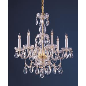 Traditional Crystal - Six Light Chandelier