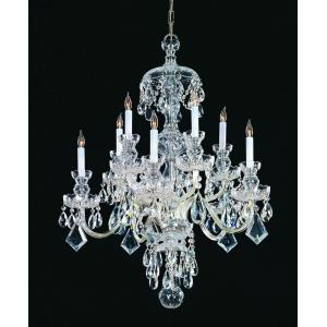 Traditional Crystal - 10 Light Chandelier