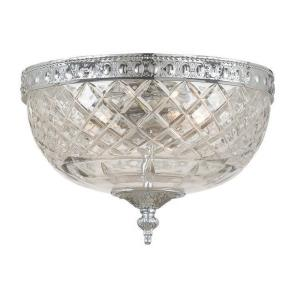 Cortland Flush Mount in Traditional and Contemporary Style - 10 Inches Wide by 8 Inches High