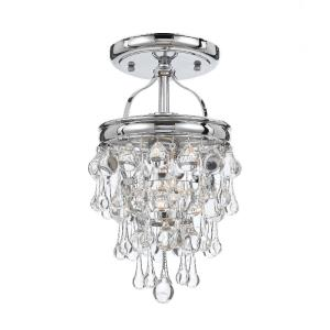 Calypso - One Light Semi-Flush Mount
