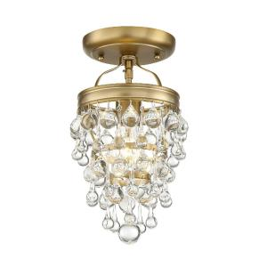 Calypso - One Light Flush Mount