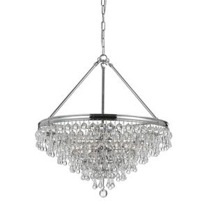 Calypso - Six Light Chandelier