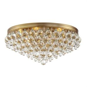 Calypso - Six Light Flush Mount