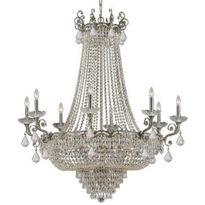 Majestic - Eight Light Chandelier in natural, organic, and raw Style - 46 Inches Wide by 52 Inches High