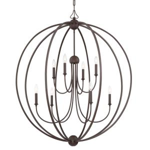 Sylvan - Eight Light 2-Tier Chandelier without Shade