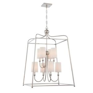 Sylvan - Eight Light 2-Tier Chandelier
