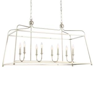 Sylvan - Eight Light Linear Chandelier