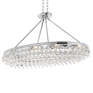 Calypso - Eight Light Oval Chandelier