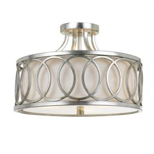 Graham - Three Light Semi-Flush Mount