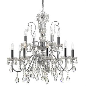 Butler - 12 Light Chandelier