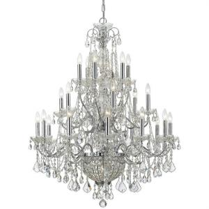 Imperial - Twenty Six Light Chandelier in classic, elegant, and casual  Style - 36.5 Inches Wide by 46 Inches High