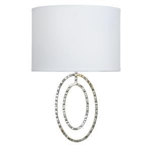 Jolie - Two Light Wall Sconce in natural, organic, and raw Style - 8.5 Inches Wide by 13 Inches High