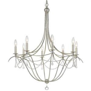 Metro II - Eight Light Chandelier