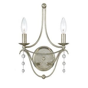 Metro - Two Light Wall Sconce in traditional and contemporary Style - 10 Inches Wide by 14.5 Inches High