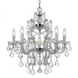 Maria Theresa - Six Light Chandelier