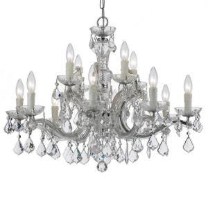 Maria Theresa - 30 Inch Twelve Light Chandelier