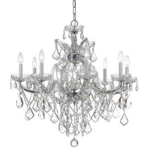 Maria Theresa - Eight Light Chandelier in Classic Style - 28 Inches Wide by 27 Inches High
