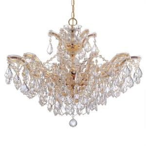Maria Theresa - Six Light Chandelier in Classic Style - 27 Inches Wide by 20 Inches High