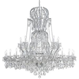 Maria Theresa - Three Six Light Chandelier in natural, organic, and raw Style - 64 Inches Wide by 66 Inches High