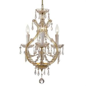 Maria Theresa - Three Light Mini Chandelier