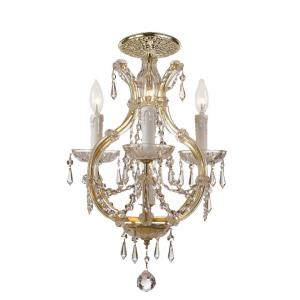 Maria Theresa - Four Light Flush Mount