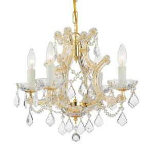 Maria Theresa - Four Light Mini Chandelier