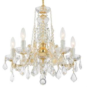 Maria Theresa - Five Light Mini Chandelier