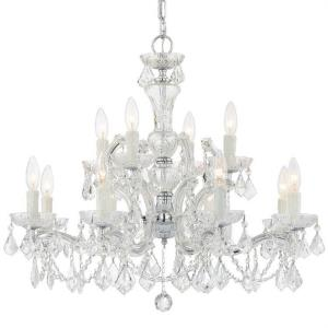Maria Theresa - Twelve Light 2-Tier Chandelier
