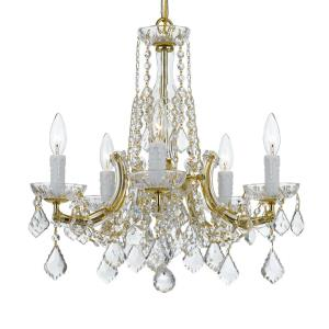 Traditional Crystal - 5 Light Chandelier