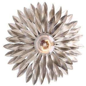 Broche - One Light Sconce in traditional and contemporary Style - 11 Inches Wide by 11 Inches High