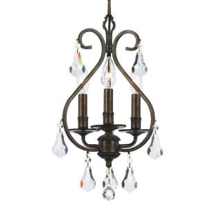 Ashton EX - Three Light Mini Chandelier