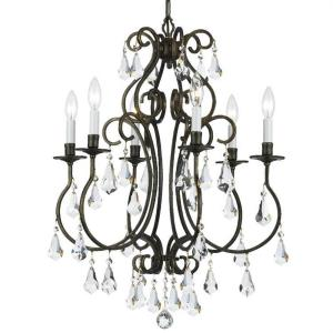 Ashton EX - Six Light Chandelier