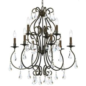 Ashton - Nine Light Chandelier