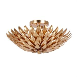 Broche - Four Light Flush Mount