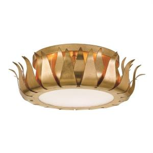 Broche - Three Light Flush Mount