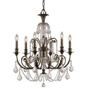 Regis - Six Light Chandelier in classic, elegant, and casual Style - 26 Inches Wide by 30.25 Inches High