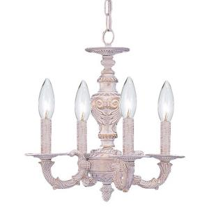 Sutton - Four Light Lanterns in minimalist Style - 13.5 Inches Wide by 14 Inches High