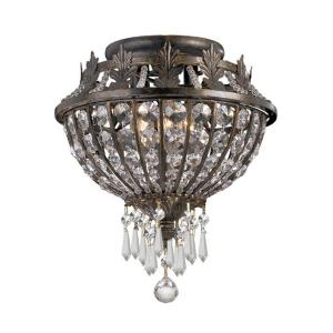 Vanderbilt Colonial 3 Light Ceiling Mount