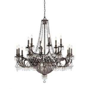 Vanderbilt - Twelve Light Chandelier in Traditional and Contemporary Style - 44 Inches Wide by 51 Inches High