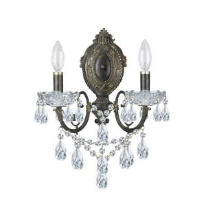 Legacy - Two Light Wall Sconce in classic, elegant, and casual Style - 12 Inches Wide by 15 Inches High